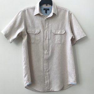 Club Room Sandy Cotton Linen Shirt - Like New!